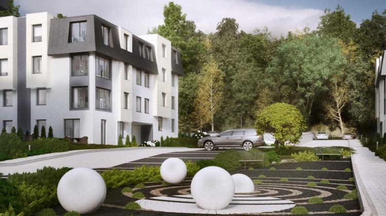 Mała architektura wewnątrzosiedlowa nawiązywała będzie do nazwy osiedla.