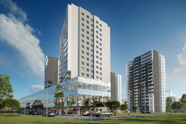 Kolejne wieże kompleksu będą nieco różniły się architekturą od pierwszego budynku.