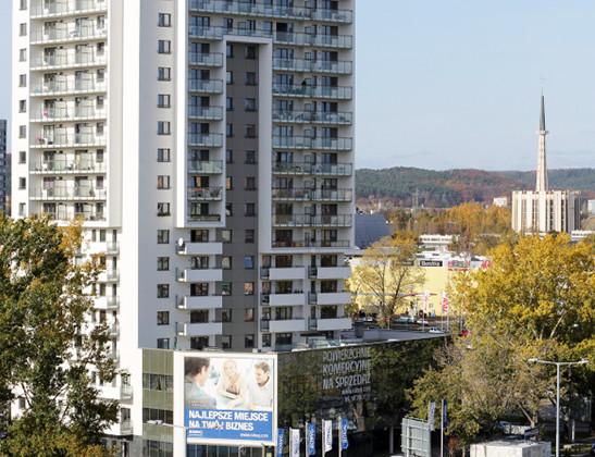 Pierwszy budynek kompleksu (wraz z częścią biurowo-usługową) uzyskał pozwolenie na użytkowanie 15 marca 2013 roku.