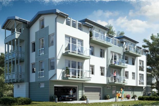 Willa Fryderyka docelowo będzie miała dwie kondygnacje mieszkalne oraz podziemną halę garażową.