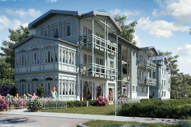 Willa George Sand powstanie bliżej ulicy Chopina. Będą w niej zaledwie cztery lokale mieszkalne i lokal usługowy.