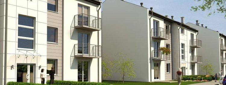 Na inwestycję złożą się trzy niewielkie trzykondygnacyjne budynki z poddaszami.