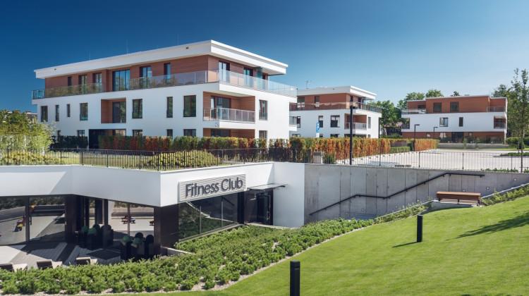 Wejście do strefy fitness.