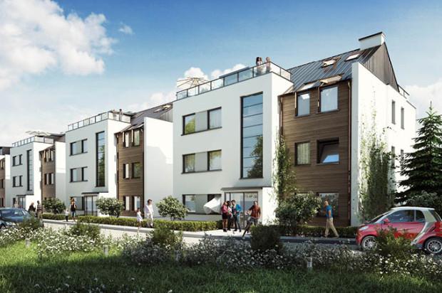 Budynki Bramy Sopockiej będą miały zaledwie trzy kondygnacje. Część mieszkań będzie miała tarasy dachowe.