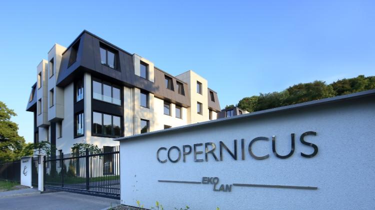 Copernicus to osiedle zamknięte dla osób z zewnątrz.