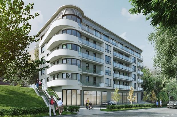 Budynek będzie miał pięć kondygnacji mieszkalnych, w przyziemiu powstaną lokale usługowe.