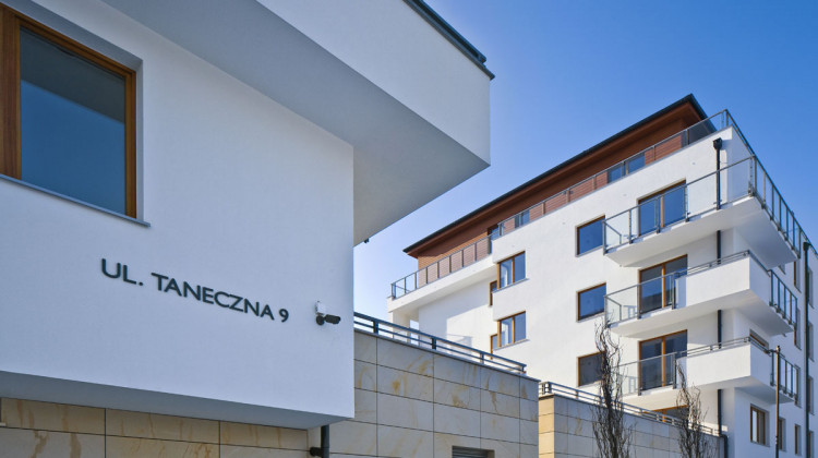 Dwa ostatnie budynki osiedla oddane zostały do użytkowania na początku 2014 roku.