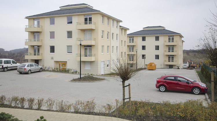Ostatnie dwa budynki drugiego etapu inwestycji zostały oddane do końca 2014 roku.