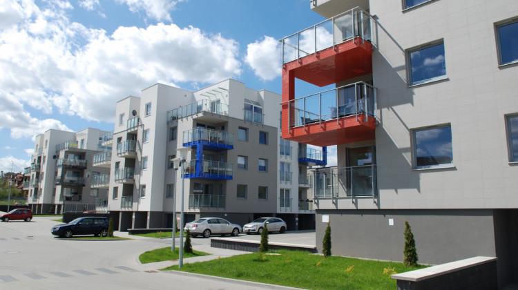 W ramach inwestycji powstało siedem budynków o nowoczesnej architekturze.