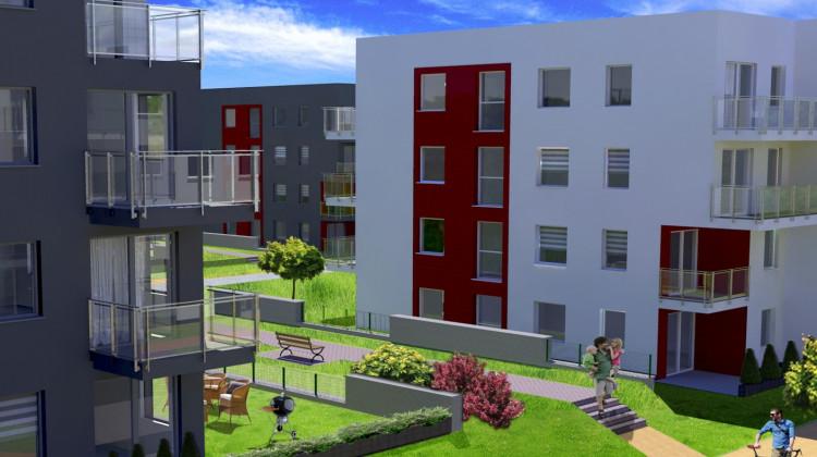 W ramach inwestycji powstanie docelowo 16 budynków o spójnej architekturze.