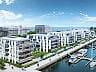 Budynki będą miały cztery piętra i największe tarasy od strony mariny.