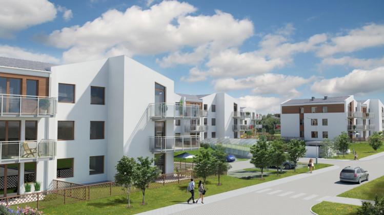 Budynki inwestycji Nowe Morskie będą bardziej kameralne, powstaną w sąsiedztwie istniejącej części osiedla.