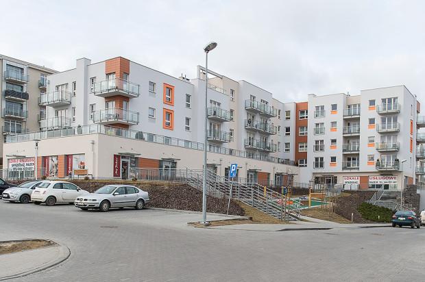 Jeden z budynków etapu oddanego w 2015 roku.