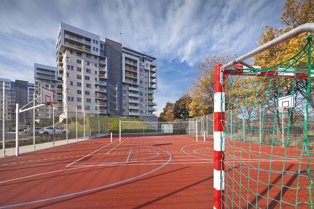 W 2015 roku budowa osiedla została zakończona. Obok powstały tereny rekreacyjne.