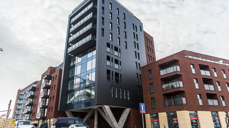 Budynek oddany do użytkowania w 2015 roku.