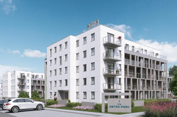 Pięciokondygnacyjne budynki o nowoczesnej architekturze wpasują się w powstającą w tej części miasta zabudowę.