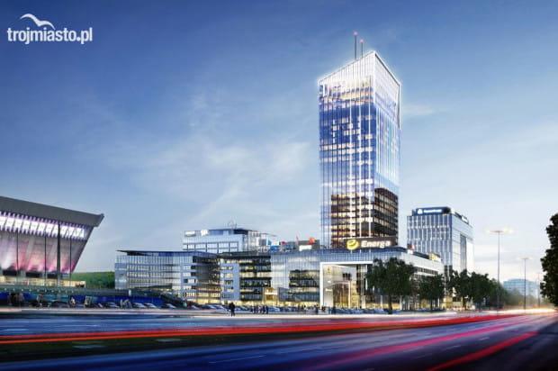 Olivia Star o wysokości 156 metrów (ponad 180 z masztem) będzie nie tylko najwyższym budynkiem kompleksu, ale także najwyższym budynkiem w Trójmieście.