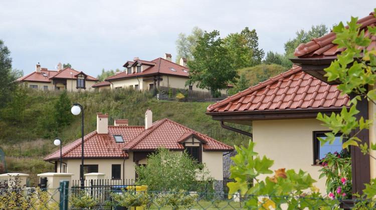 Cześć osiedla powstała w ramach II zadania.