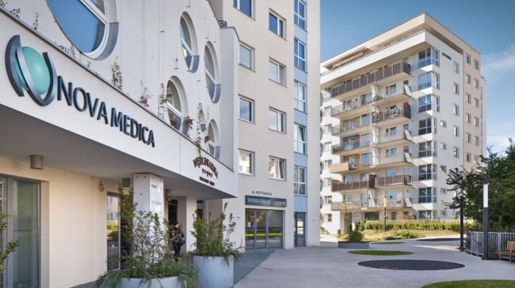 Budynki osiedla oddane do użytkowania w 2012 roku.