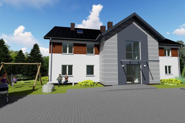 W kameralnym, ogrodzonym budynku powstaną zaledwie cztery mieszkania.