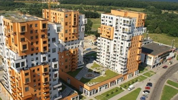 Ostatnia wieża kompleksu mieszkaniowego została oddana do użytkowania w 2006 roku.