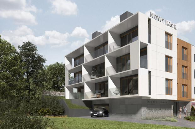 W kameralnej inwestycji powstanie zaledwie dziewięć apartamentów.