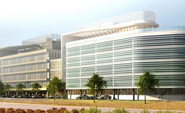 Nowy budynek przylegał będzie do istniejącego obiektu.