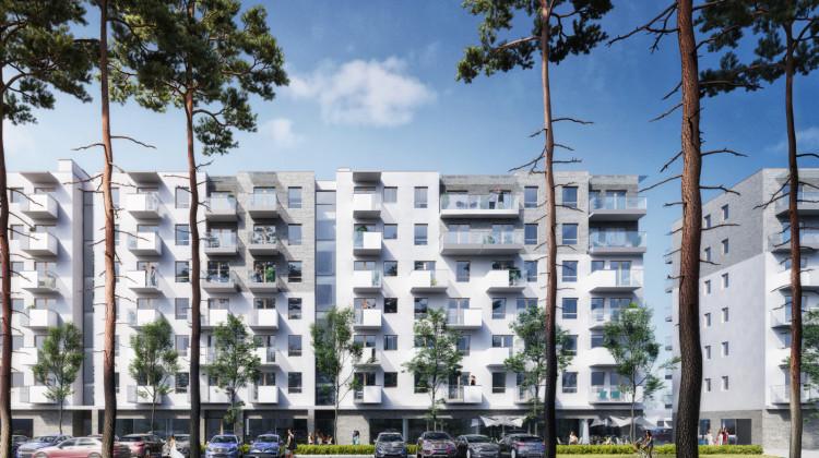 Siedmiokondygnacyjne budynki, które powstaną w ramach inwestycji, będą jednymi z niższych.