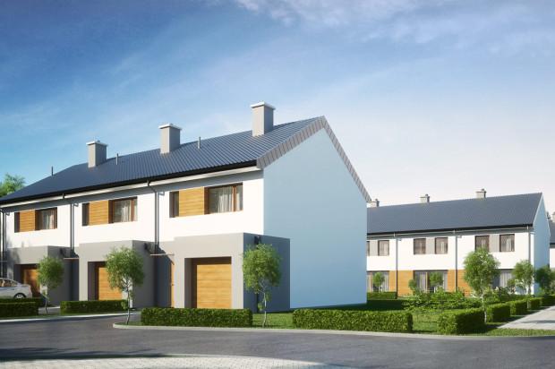 W ramach inwestycji powstaną trzy szeregi domów.