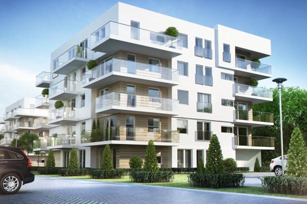 Wizualizacja budynków II etapu inwestycji.