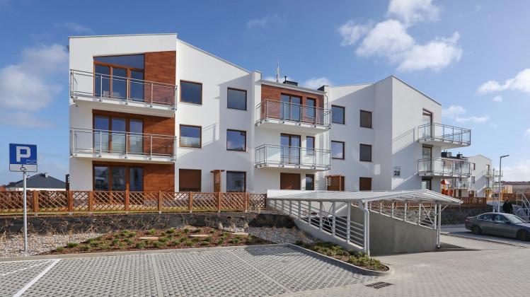 Budynek osiedla Nowe Morskie oddany w 2016 roku.