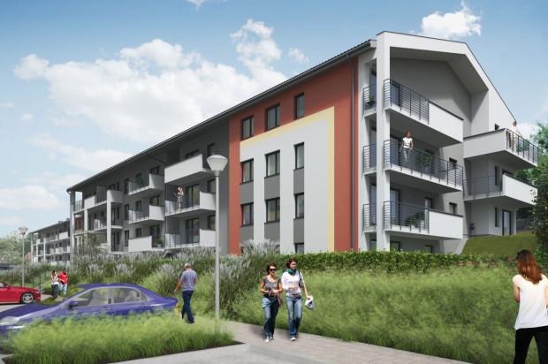 Budynki, które zaczęły powstawać na osiedlu w 2017 roku.