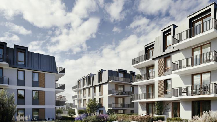Budynki będą miały cztery kondygnacje. Architektonicznie są podobne do sąsiednich osiedli.