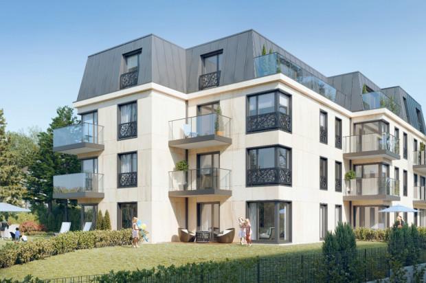 Elewacja i przestrzenie wspólne budynku wykończone będą materiałami wysokiej jakości.