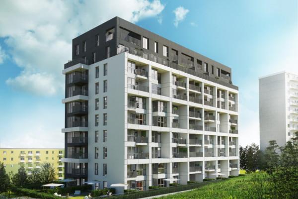 Mieszkania w budynku przy Rozewskiej 9-11 będą miały duże przeszklenia. Posiadać je będą również balustrady balkonowe.