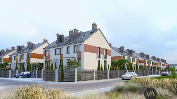 Na osiedlu powstawały będą budynki w zabudowie szeregowej i bliźniaczej.