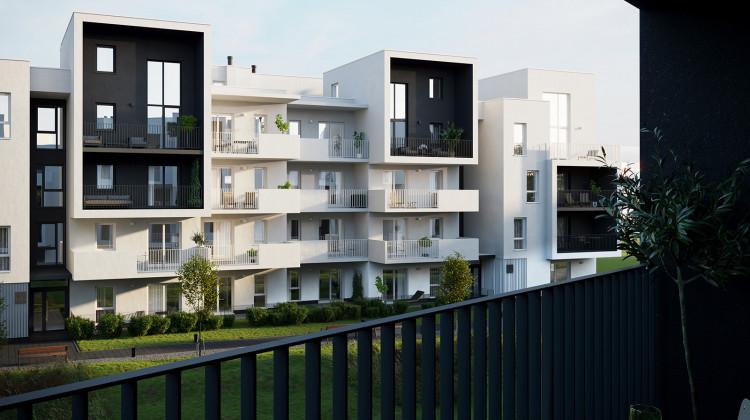 Na najwyższych piętrach powstaną lokale dwupoziomowe. Zostanie to zaakcentowane architekturą budynku.