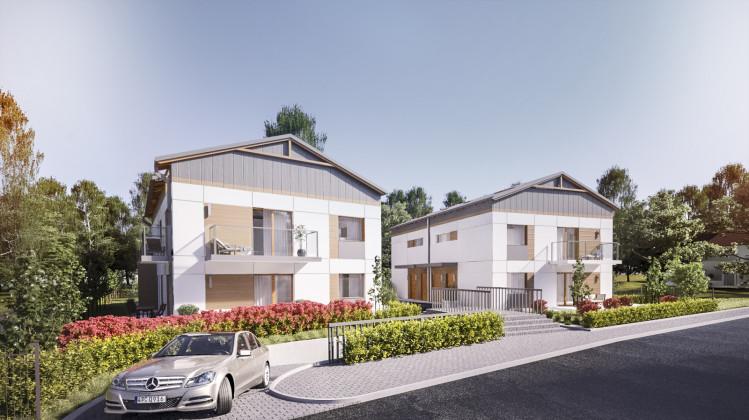 W dwóch kameralnych budynkach powstanie zaledwie osiem mieszkań.