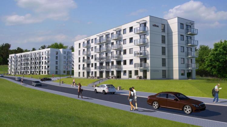 Docelowo osiedle składało się będzie z pięciu budynków.