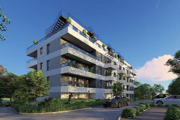 Na dachach budynków powstały zielone tarasy.