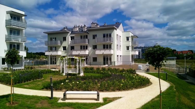 Ostatni powstały budynek osiedla oddany do użytkowania w 2017 roku.