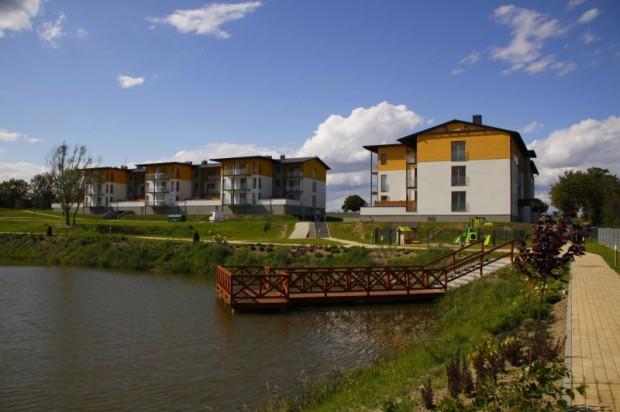 Budynki osiedla powstałe do 2011 roku.