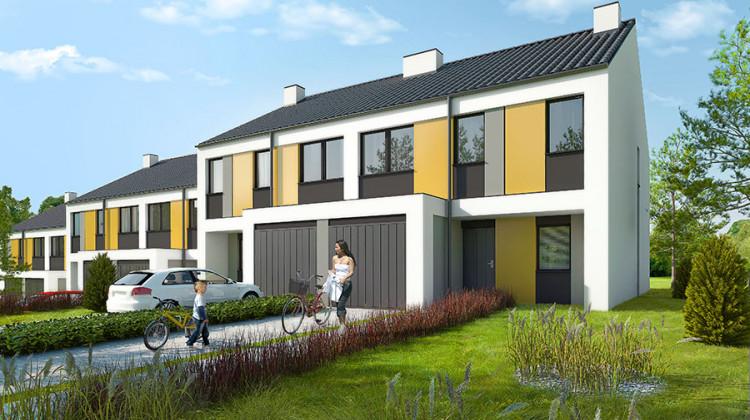 Budynki powstające w kolejnych etapach realizacji osiedla.