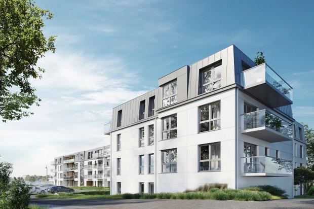 Budynki będą miały przyjazną, elegancką architekturę.