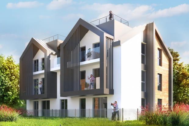 W budynkach wielorodzinnych osiedla Młoda Morena powstaną zaledwie cztery mieszkania.