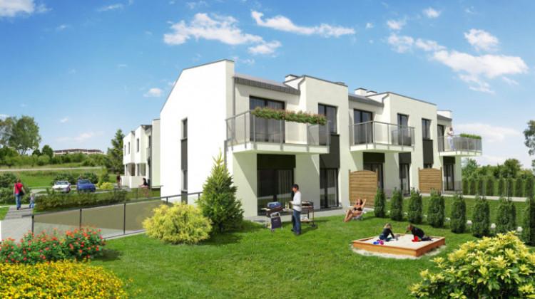 Mieszkańcy parterów będą mogli korzystać z własnych ogródków.