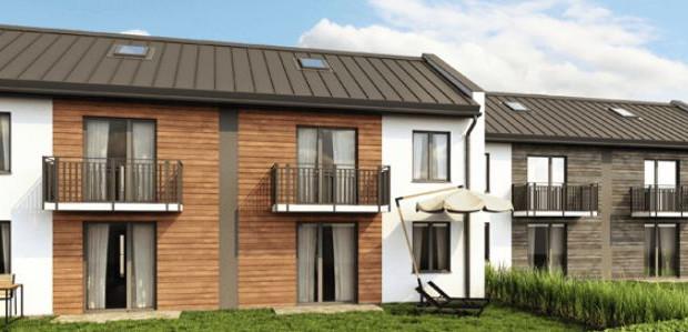 Budynki będą miały zaledwie dwie kondygnacje mieszkalne.