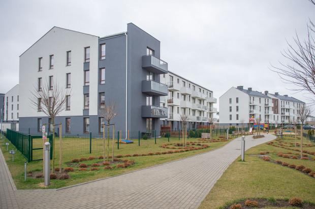 Ostatnie budynki osiedla Mistral zostały oddane nowym mieszkańcom na początku 2018 roku.