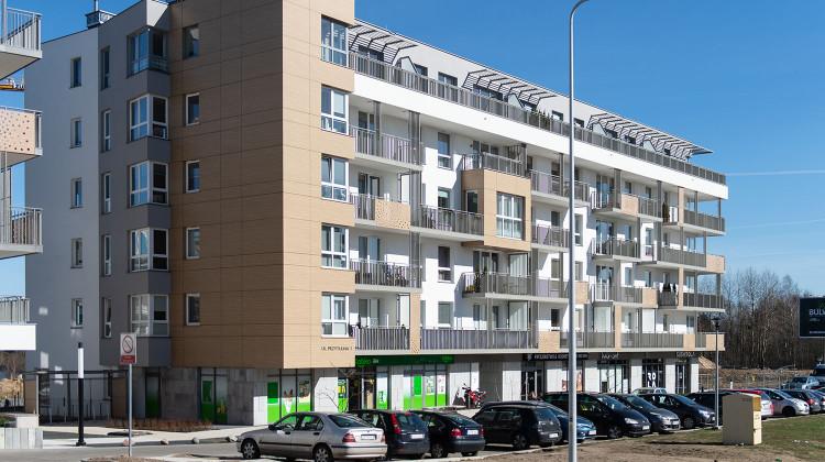 Budynek osiedla oddany do użytkowania w 2018 roku.