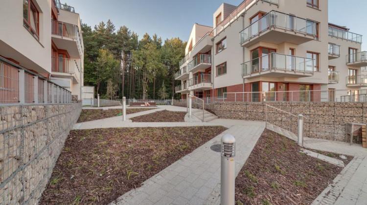 Budynki osiedla oddane do użytkowania w 2018 roku.